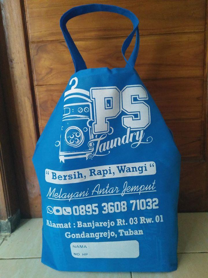 PS laundry tas serut spunbond