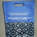 tas acara kegiatan di gereja souvenir bahan spunbond, tas souvenir