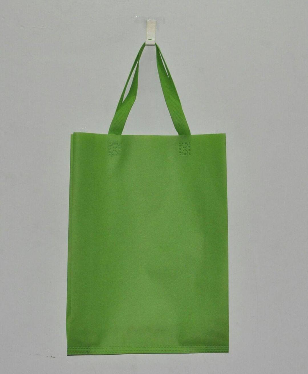 tas berkat hijau polos