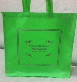 tas berkat hijau spunbond