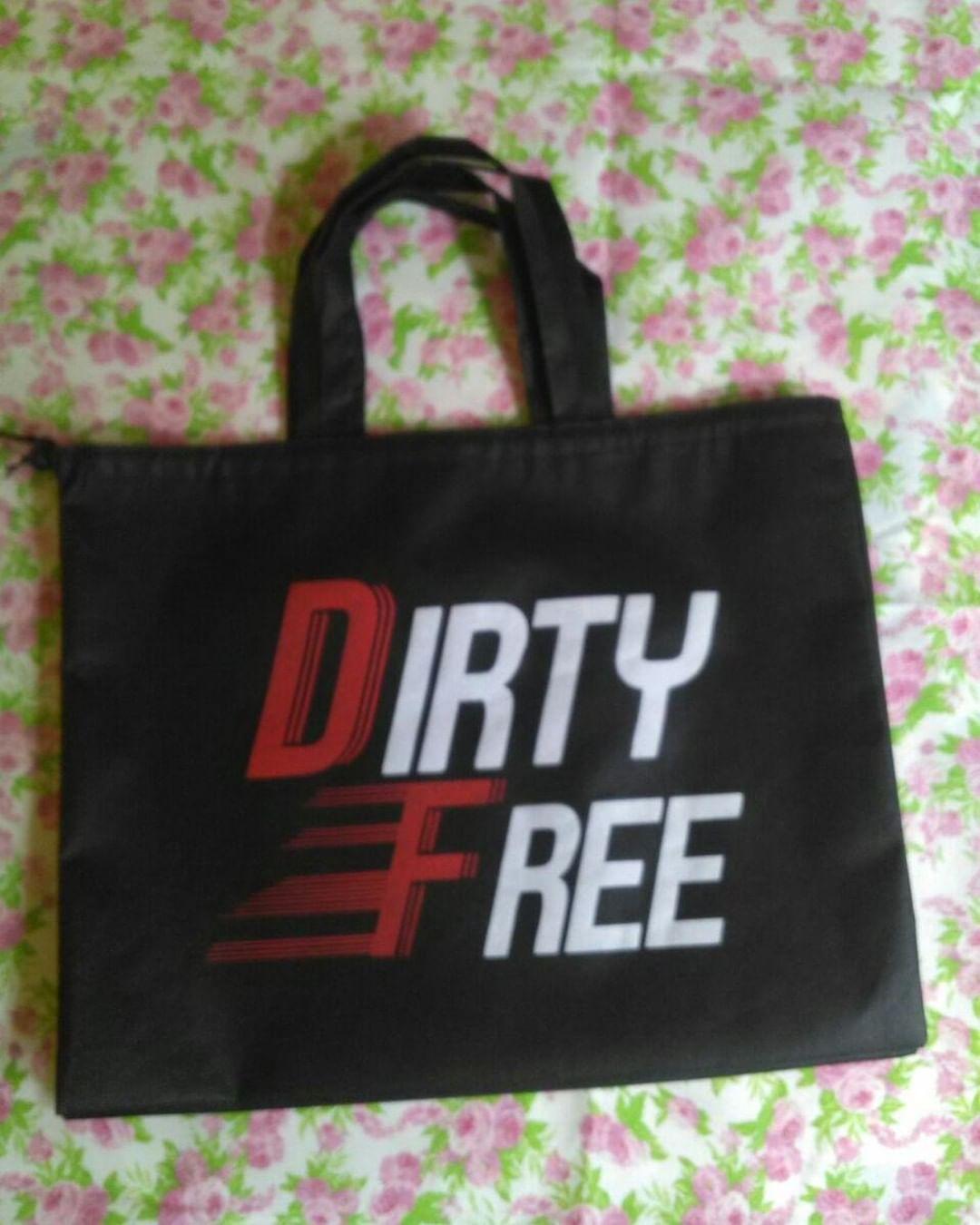 Tas Spunbond Souvenir Dirty Free