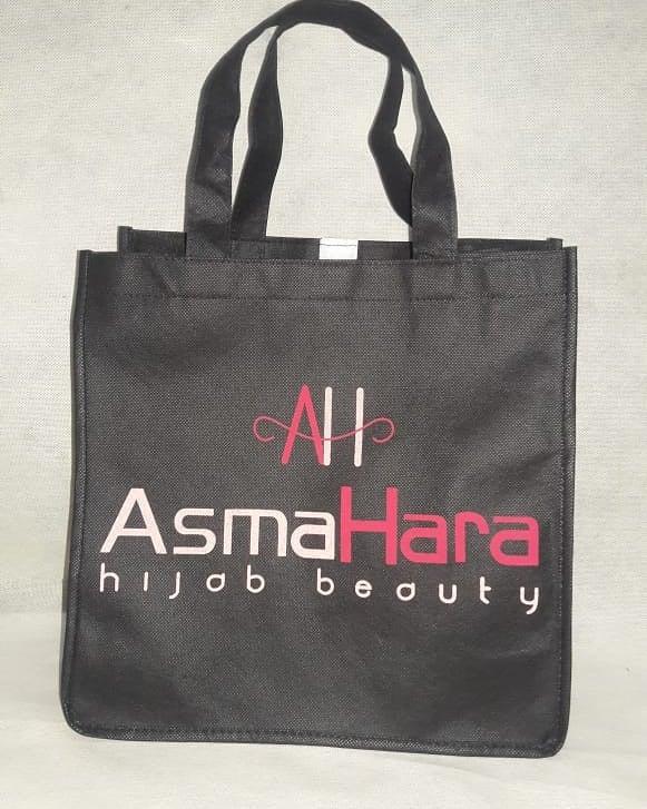 tas spunbond tas packing hijab AsmaHara