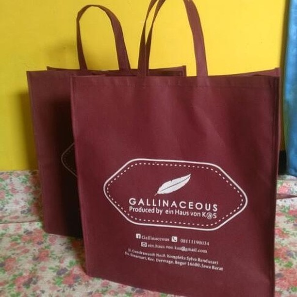 tas spunbond tas berkat gallinaceous packing