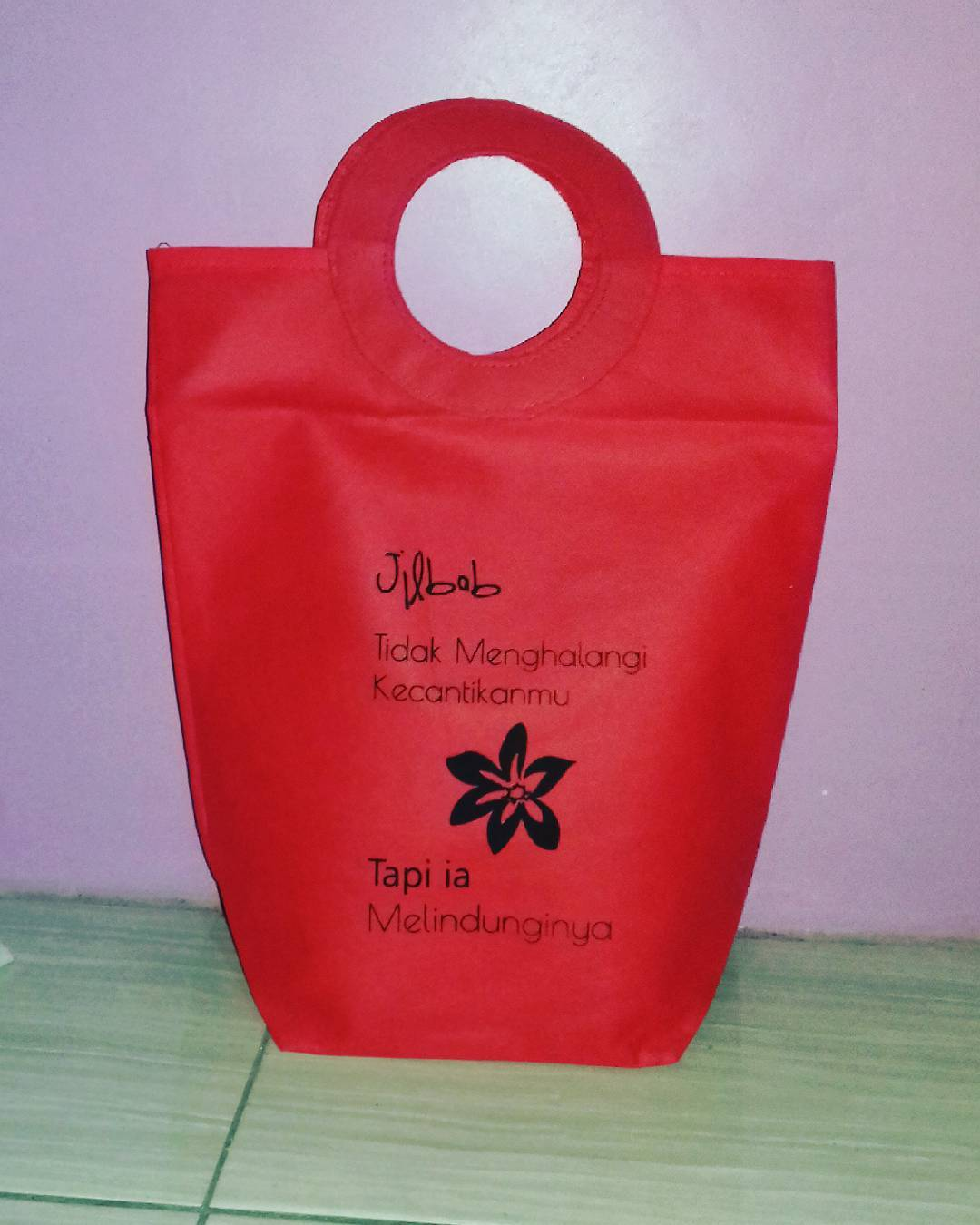 Tas Spunbond Tas Packing Hijab