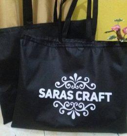 tas spunbond tas berkat saras craft