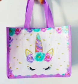tas spunbond ulang tahun unicorn