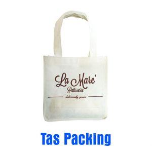 Tas Packing Putih