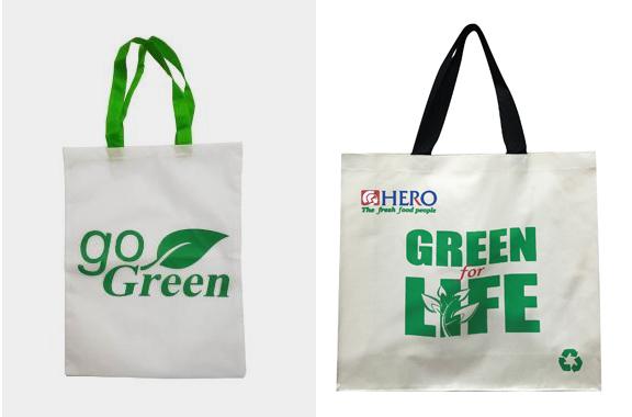Berbagai Macam Fungsi dari Tas Spunbond tas spunbond tas ramah lingkungan dengan sablon tulisan go green
