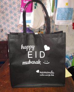 tas goodie bag tas-spunbond-tas-berkat-happy-eid-mubarak