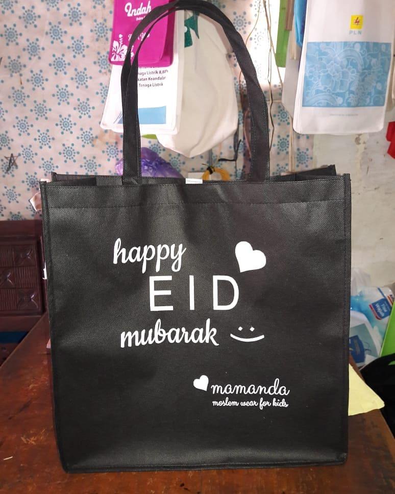 tas spunbond tas berkat happy eid mubarak