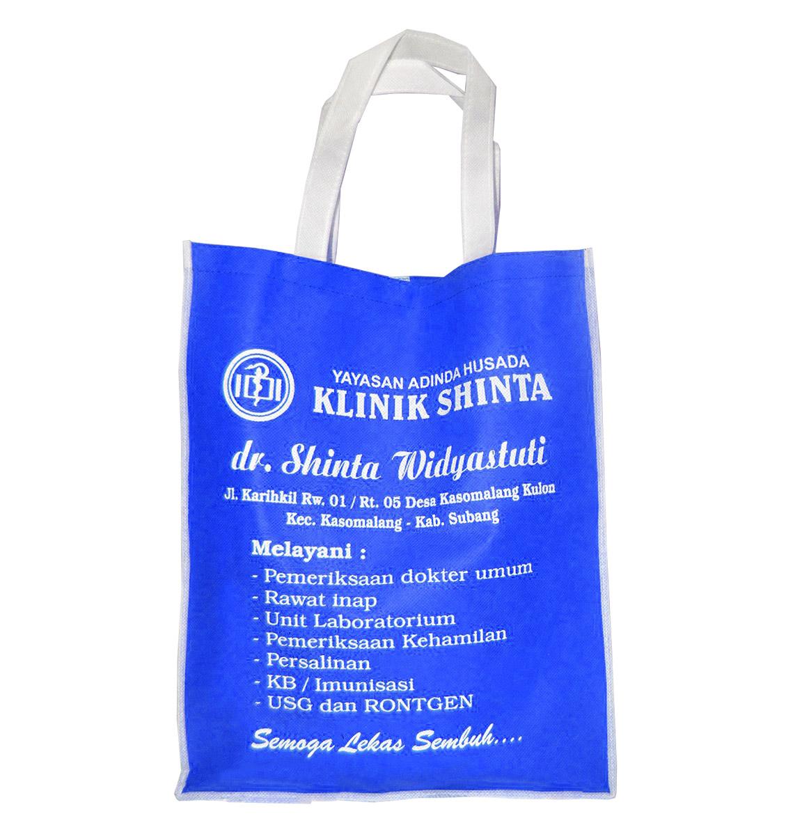 Tas Klinik Shinta bahan Spunbond