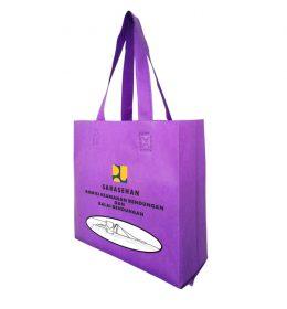 tas spunbond warna ungu, tas seminar kit ungu, tas seminar kit murah
