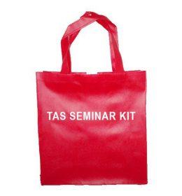 tas seminar kit, tas spunbond merah