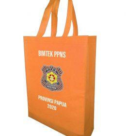 tas spunbond bimtek ppns Papua Tas warna Orange