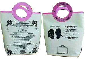 Tas Undangan Pernikahan TP110, tas undangan pernikahan, undangan pernikahan, ulem pernikahan, tas souvenir pernikahan, tas spunbond