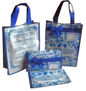 tas undangan pernikahan TP106, tas undangan pernikahan, tas souvenir, tas spunbond